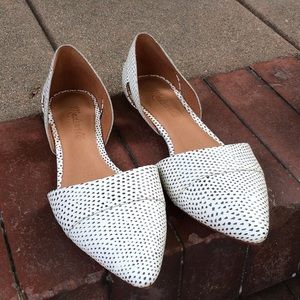 Madewell D'Orsay Pointed Flats